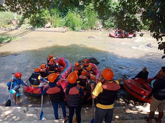 Arung Jeram Cisadane Starting Point
